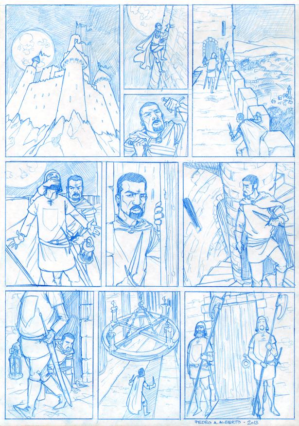 Página 1 Taller Cómic
