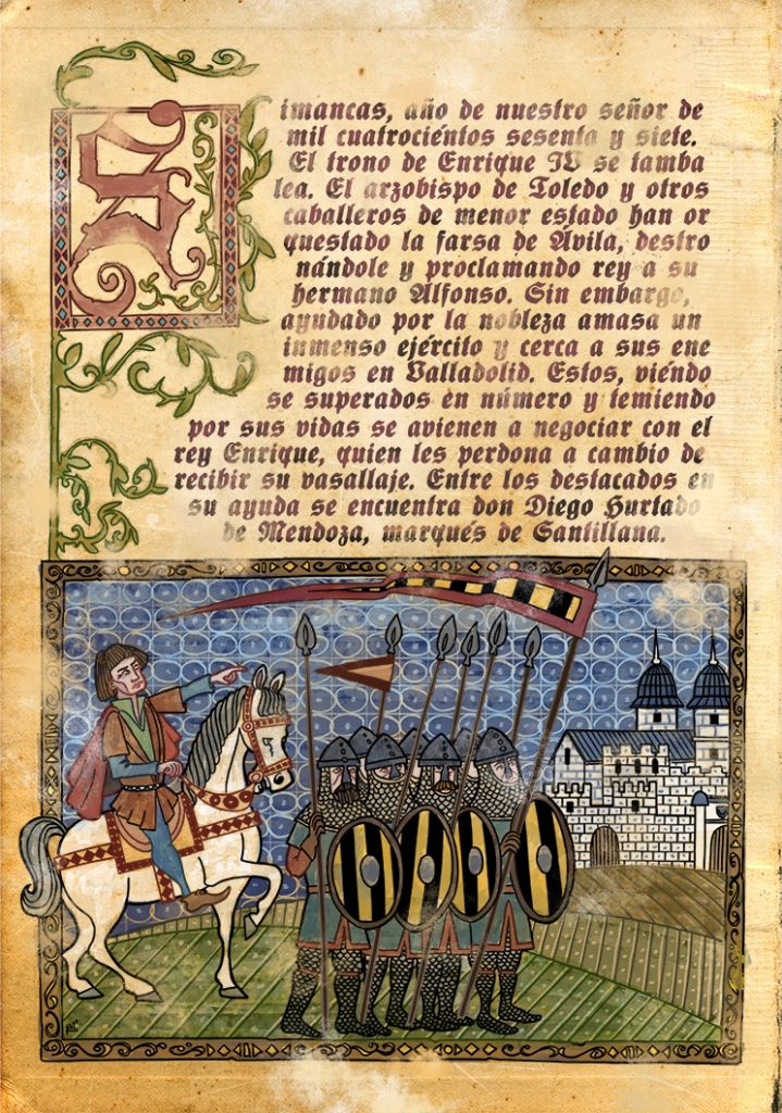 Medieval miniature 1c