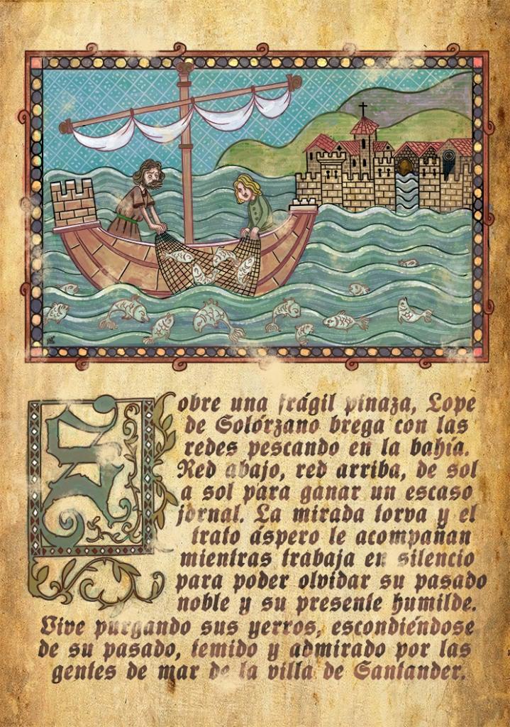 Medieval miniature 2c