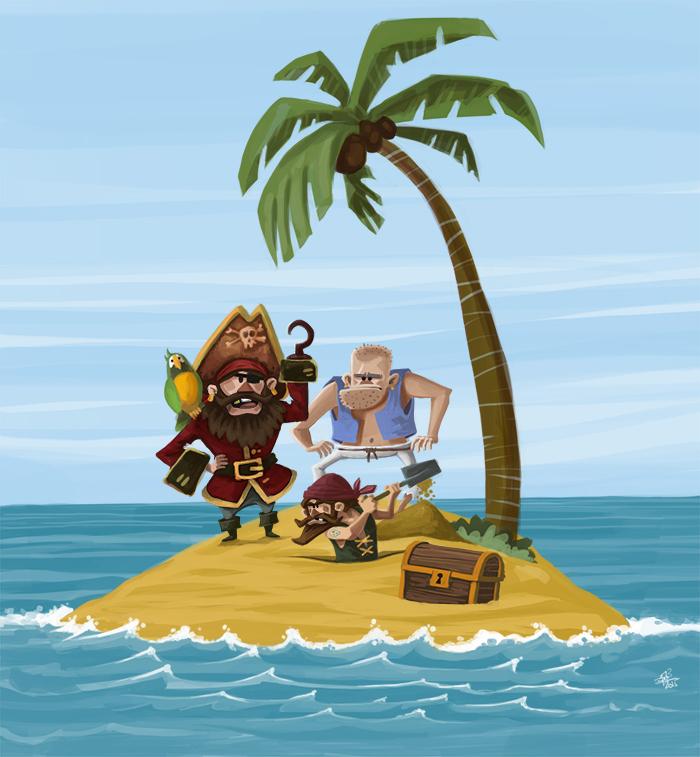 Piratas Isla