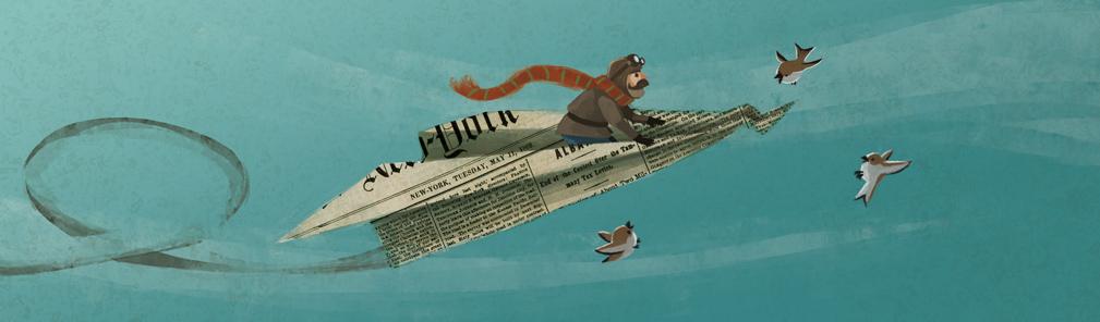 Newspaper-Plane